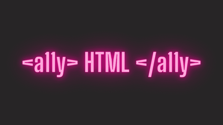 HTML is Accessible Enough! Use It.